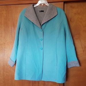 S. CAROLE LITTLE WOOL Jacket